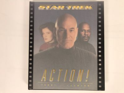 Star Trek Action! First Hardcover Printing Book