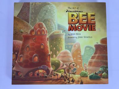 The Art Of DreamWorks Bee Movie First Edition Book By Jerry Beck