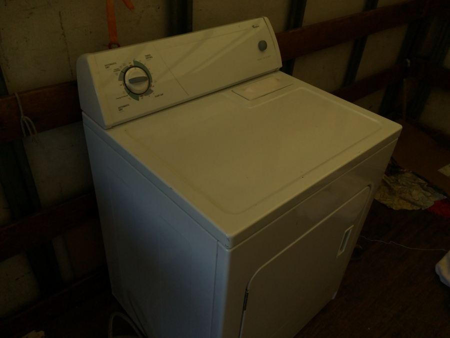Whirlpool Commercial Quality Extra Large Capacity Gas Dryer