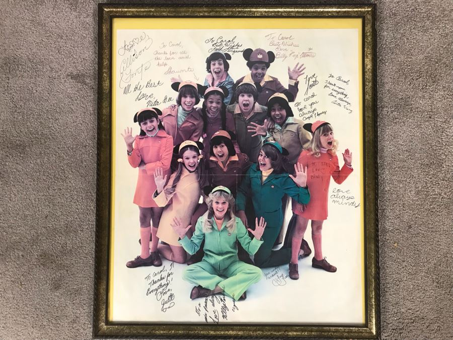 NBC TV Executive / Actress Carole Mathews Collectibles Auction