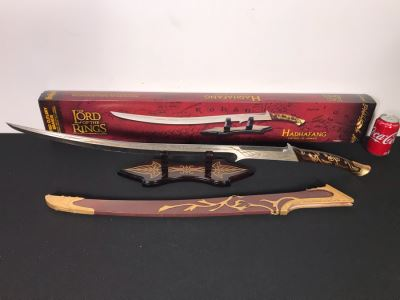 The Lord Of The Rings Hadhafang Sword Of Arwen With Box By United Cutlery Brands