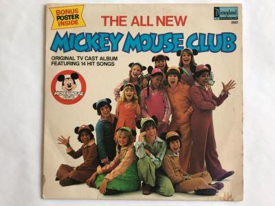 Walt Disney's The All New Mickey Mouse Club Disneyland Record 2501