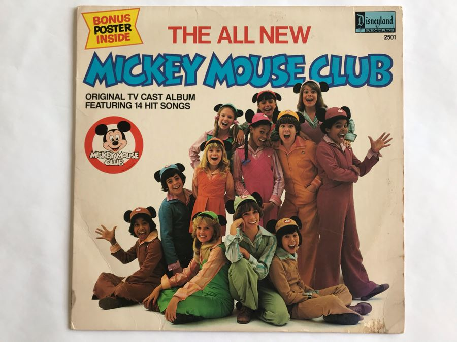 Walt Disney's The All New Mickey Mouse Club Disneyland Record 2501 [Photo 1]