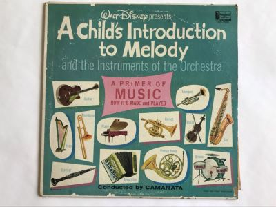 Walt Disney Presents A Child's Introduction TO Melody Disneyland Record DQ-1232