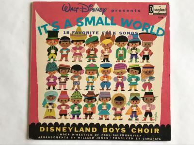 Walt Disney Presents It's A Small World Disneyland Record 1289