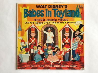 Walt Disney's Babes In Toyland Disneyland Record DQ-1219