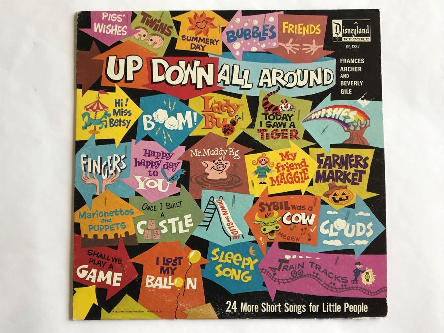Up Down All Around Disneyland Record DQ-1337 [Photo 1]