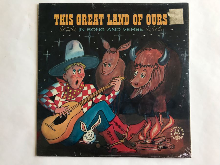 SEALED This Great Land Of Ours In Song And Verse Robin Hood Records [Photo 1]