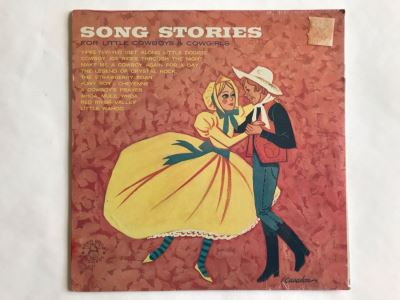 SEALED Song Stories For Little Cowboys & Cowgirls Robin Hood Records