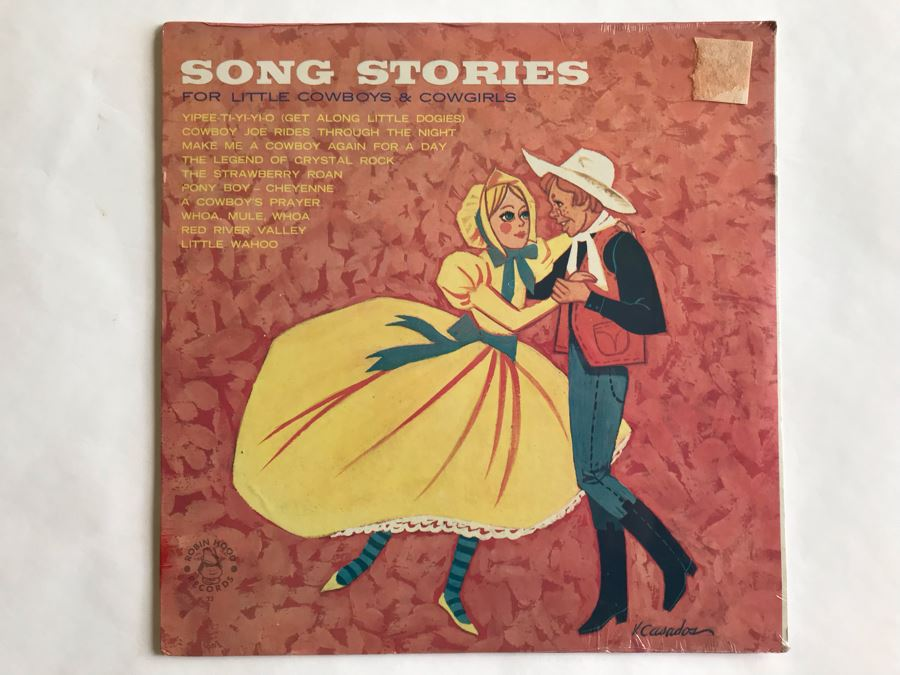 SEALED Song Stories For Little Cowboys & Cowgirls Robin Hood Records [Photo 1]