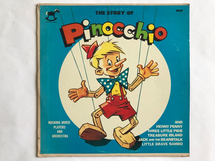 The Story Of Pinocchio Rocking Horse Record 5067 [Photo 1]