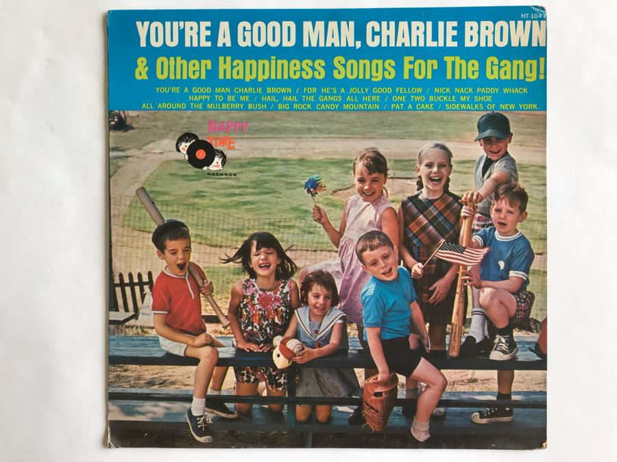 You're A Good Man, Charlie Brown & Other Happiness Songs For The Gang! Happy Time Records HT-1047 [Photo 1]