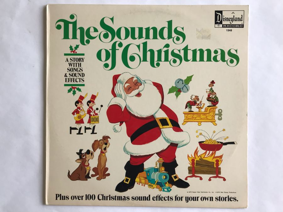 The Sounds Of Christmas Disneyland Record 1348 [Photo 1]