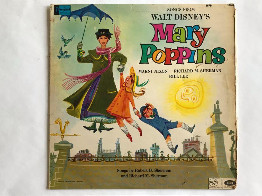 Songs From Walt Disney's Mary Poppins Disneyland Record MFP1065 [Photo 1]