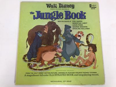 Walt Disney's The Jungle Book Disneyland Record 3948