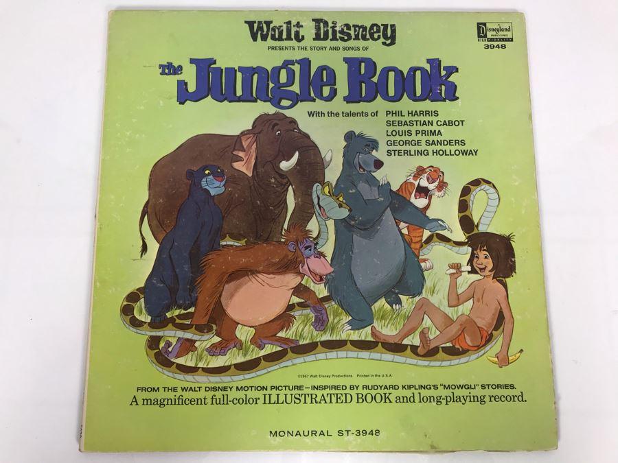 Walt Disney's The Jungle Book Disneyland Record 3948 [Photo 1]