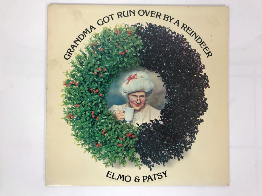 Grandma Got Run Over By A Reindeer Record By Elmo & Patsy [Photo 1]