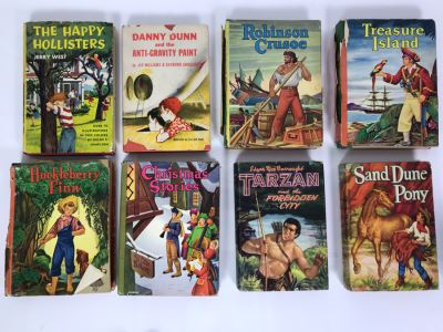 Vintage Collection Of Eight Children's Books