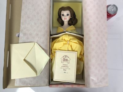Limited Edition Disney's Beauty And The Beast Belle Doll With Box