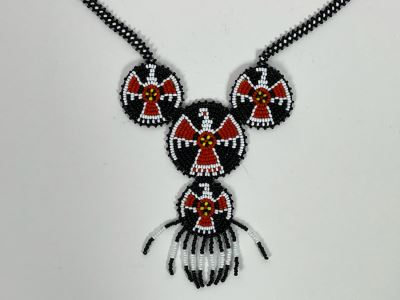 Hand Beaded Native Necklace