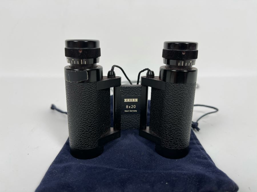 ZEISS West Germany Portable 8 X 20 Binoculars With Pouch [Photo 1]