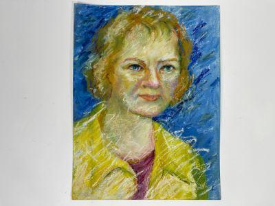 Original Jean Klafs Self-Portrait 12 X 16