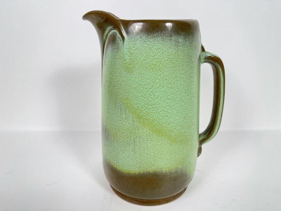 Vintage Frankoma Pottery Pitcher 9.5H