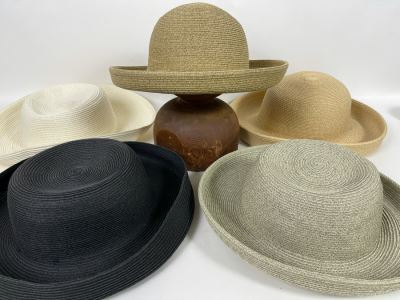 Collection Of Five New Hats In Various Colors
