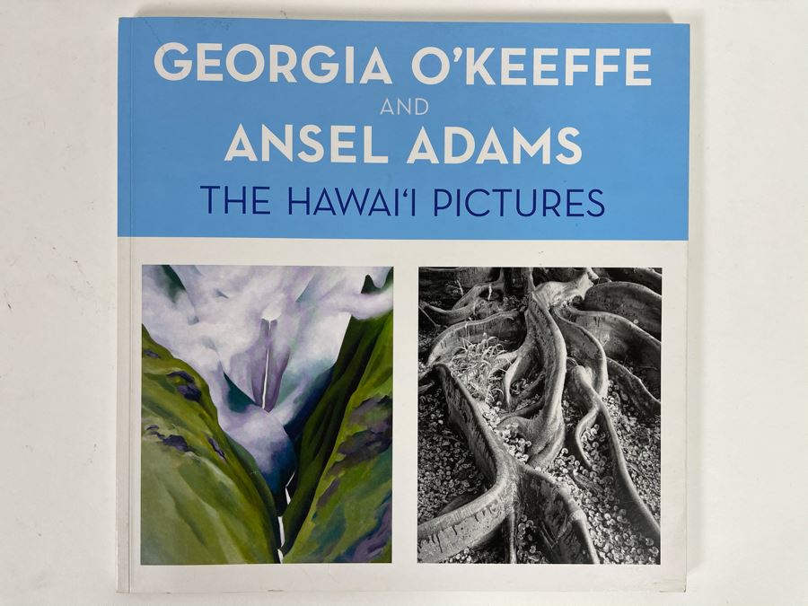 First Printing Book Georgia O'Keeffe And Ansel Adams The Hawaii Pictures