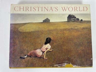 First Edition Coffee Table Art Hardcover Book: Christina's World - Paintings And Pre-Studies Of Andrew Wyeth 1982 Originally Retailed For $90