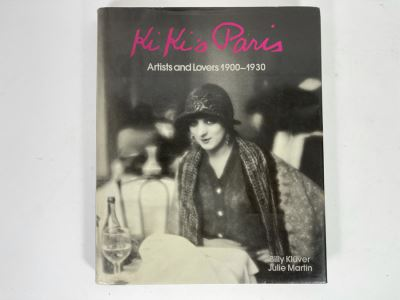 JUST ADDED - First Edition Book 'Ki Ki's Paris: Artist And Lovers 1900-1930' By Billy Kluver And Julie Martin