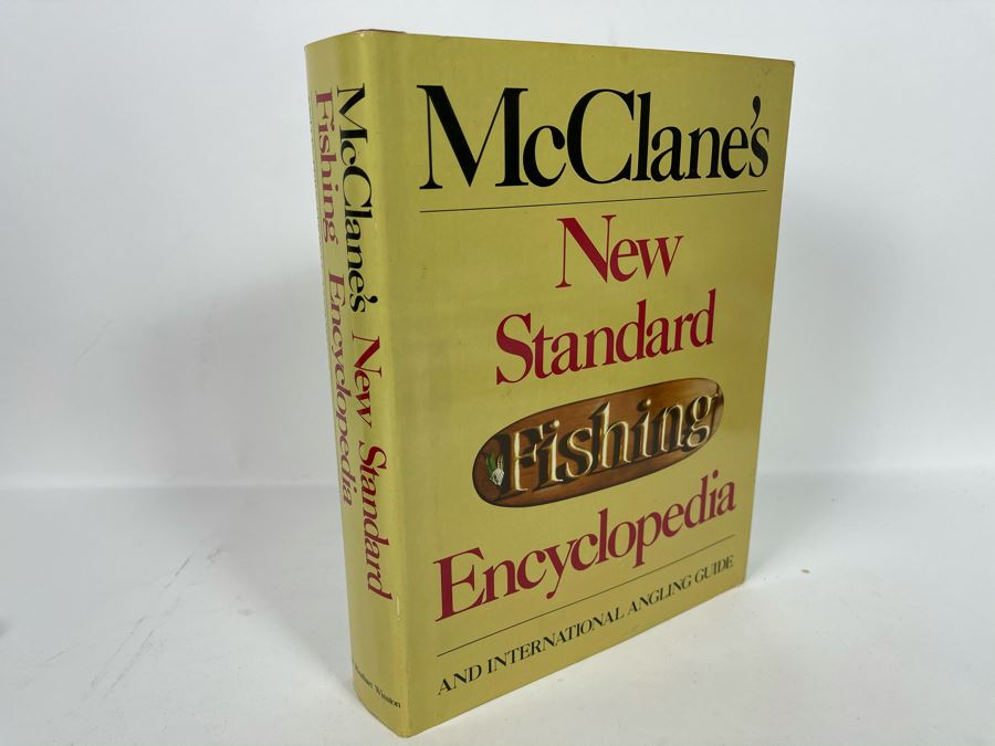 JUST ADDED - Large Second Edition 1974 Reference Book: McClane's Standard Fishing Encyclopedia