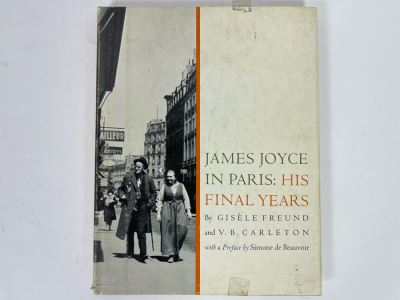 JUST ADDED - First Edition Book 'James Joyce In Paris: His Final Years' By Gisele Freund And V.B. Carleton