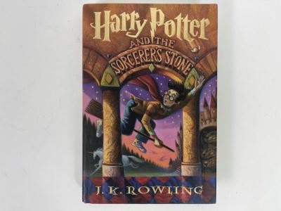 JUST ADDED - First American Edition Book 'Harry Potter And The Sorcerer's Stone' By J. K. Rowling