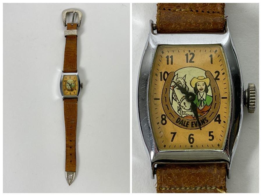 Vintage Dale Evans Western Watch