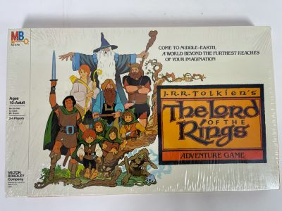 Sealed Vintage 1979 J.R.R. Tolkien's The Lord Of The Rings Adventure Game By Milton Bradley MB 4909