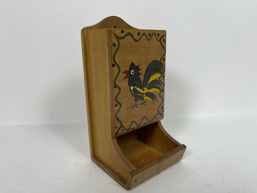 Vintage Matchbox Holder [Photo 1]