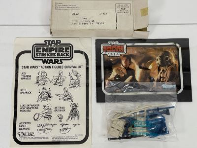EXTREMELY RARE SEALED 1980 Kenner Mail-Away Offer Star Wars The Empire Strikes Back Star Wars Action Figures Survival Kit (Needed 5 Proofs Of Purchase From Kenner Action Figures)