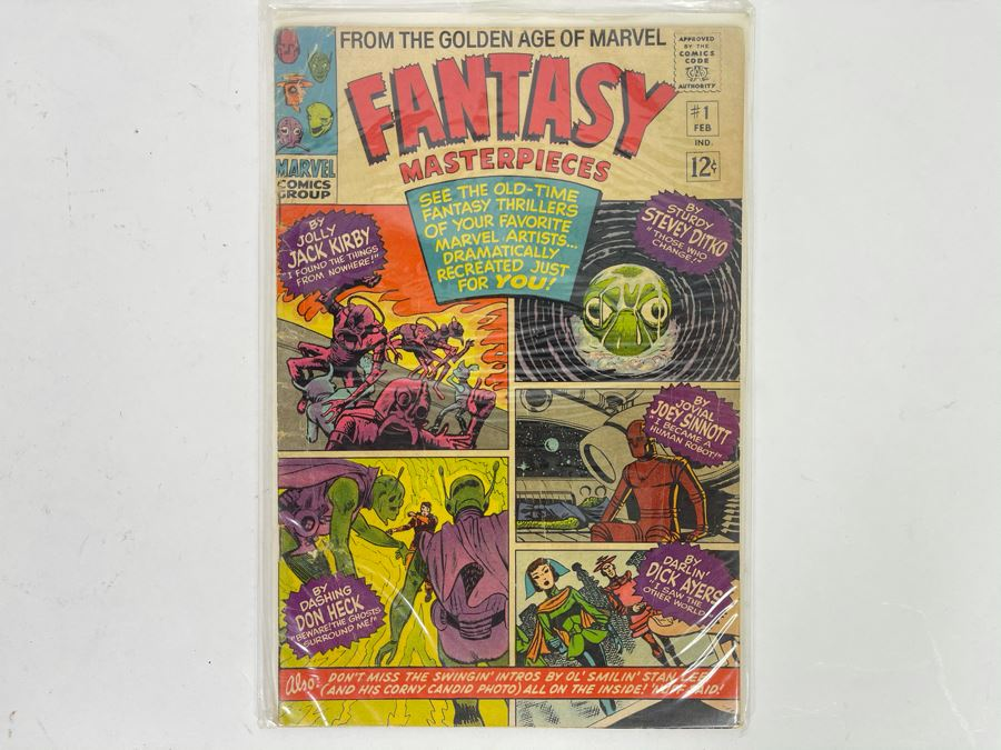 Marvel Comics Group 12 Cent Comic Book Fantasy Masterpieces #1 [Photo 1]