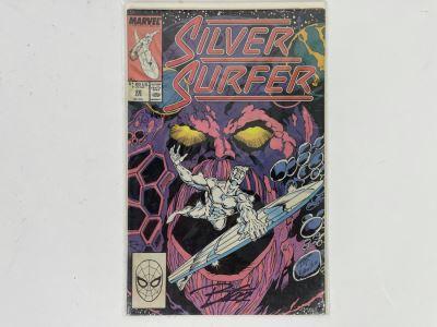 Signed Marvel Silver Surfer #22 Comic Book