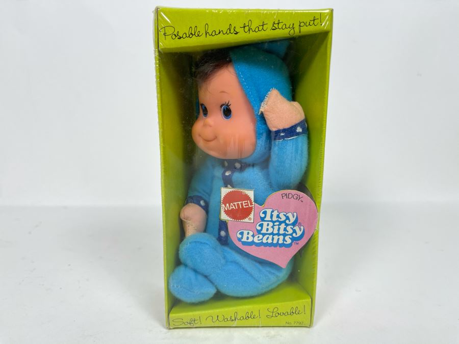 Vintage 1973 New Mattel Itsy Bitsy Beans Pidgy Doll No. 7797