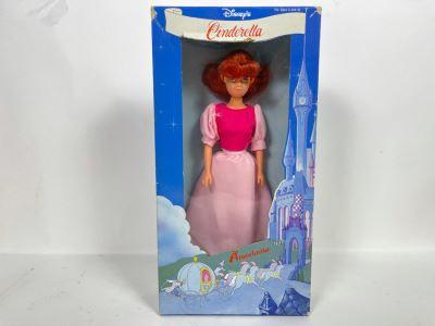 Vintage Disney's Cinderella Anastasia Doll New In Damaged Box