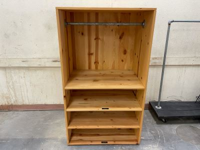 Pine Mercantile Store Clothing Display Cabinet From RAEN (RAEN Recently Grew Into Bigger Space) 35W X 25D X 60H