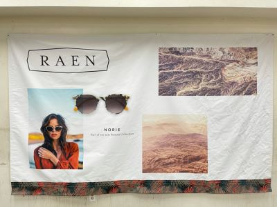 Large Canvas Print From Local North County San Diego Company RAEN Sunglasses / Eyeglasses 9.8' X 6'