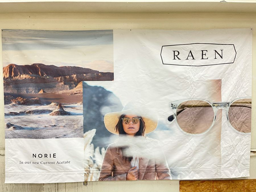 Large Canvas Print From Local North County San Diego Company RAEN Sunglasses / Eyeglasses 9.8' X 6' [Photo 1]