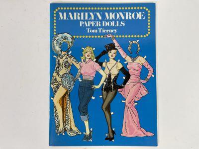 Vintage 1979 New Marilyn Monroe Paper Dolls By Tom Tierney