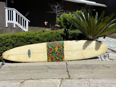 Phil Becker Series 6.0 Custom Shaped 9.5'L X 22'W Longboard