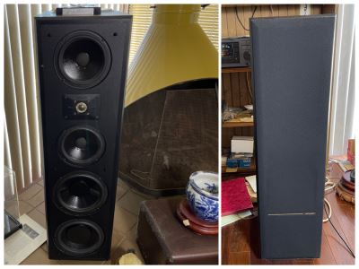 Polk Audio Free Standing Speakers 11 X 15 X 39.5H