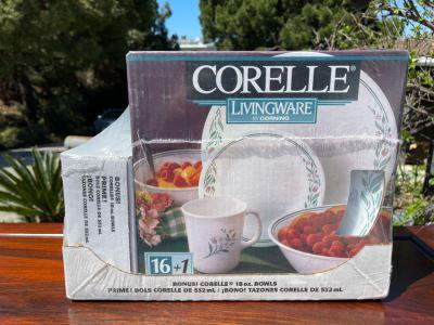 New Corelle Livingware By Corning 16 Piece Set