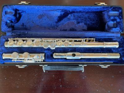W. T. Armstrong Elkhart Indiana Flute With Case Model 105 16'L
